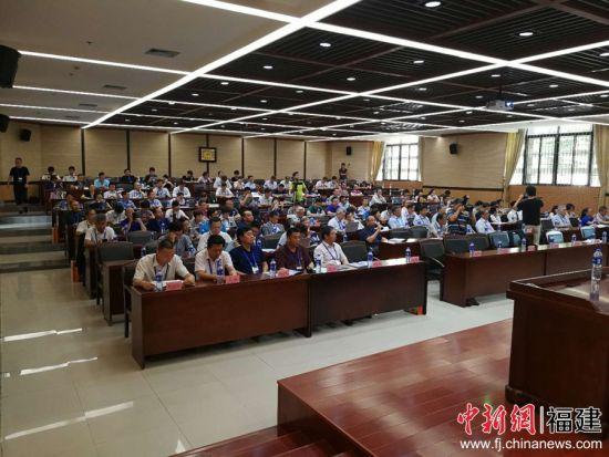 1,2019海峡科技专家论坛•海峡两岸海洋工程与航海技术研讨会于6月15日、16日在集美大学召开。主办方 供图