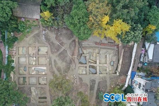 三苏祠首次发现宋代遗址 北宋时这里已有人居住