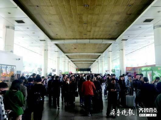 春运节前将两次高峰 济南预计发送旅客745万人次