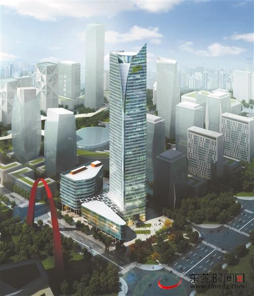 东莞轨道交通大厦8月交付使用