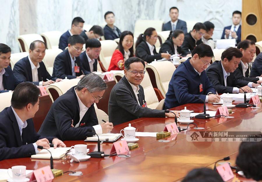 陈武参加南宁市代表团审议
